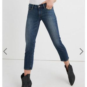 Lucky Brand mid-rise sweet crop jeans